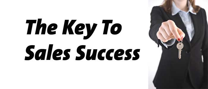 The-Key-To-Sales-Success